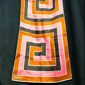 1970's retro geometric Vera Neumann scarf